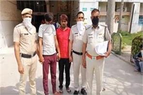 two accused arrested for making minors a lust 1 absconding