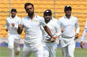 unadkat s brilliant performance saurashtra in ranji trophy final