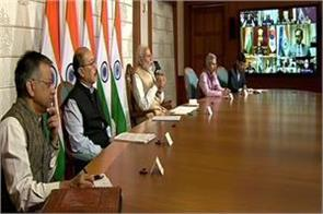 corona effect pm modi discusses with diplomats