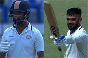 saurashtra made 384 runs in day 2 in ranji trophy final