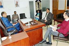 meeting about curfew in shimla