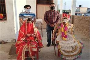 poor family firl got married in lockdown