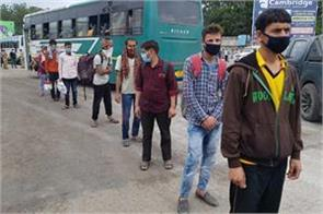 people reaching jk by illegal way from punjab