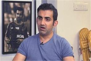 gambhir says this player as an alternative to dhoni