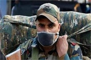 indian army personnel divided into three categories