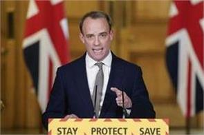 raab fires warning shot at china over coronavirus