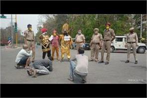 sho manfool singh of mohali curfew breakers in dramatic manner