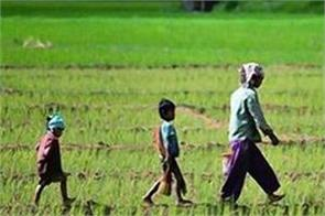 2424 crores to the farmers to compensate for the bad crops