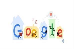 google doodle on coronavirus tips