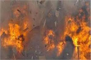 blast in banipora 2 injured