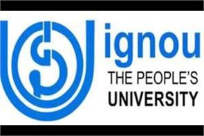 ignou issues notice for online assignment this is the last date