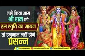 hanuman jayanti 2020 chant this ram stuti