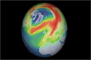 scientists claim ozone layer hole over arctic is fine