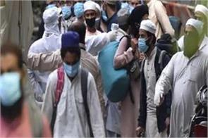 outside the room of narela segregation center jamaat members defecated