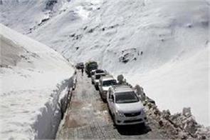 srinagar leh highway opened after five months