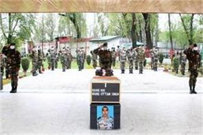 army paid tribute to solidr died in loc uri