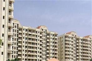 booking of residential units fell by 78 percent