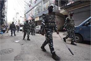 crpf personnel entangled with instructions issued for quarantine