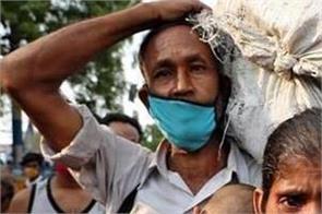 lockdown corona virus poor laborer no food left no employment