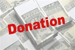 journalist gave 6 lakh rupees in chief minister relief fund