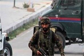 encounter between security forces and terrorists in srinagar