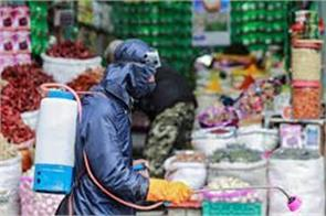 training for street vendors about corona in kashmir