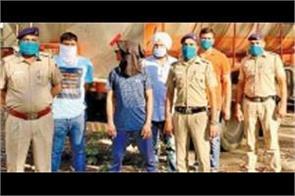 smuggler carrying alcohol smuggling in gujarat s milk tanker