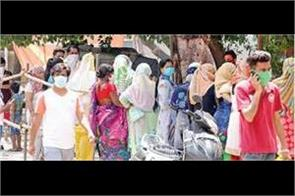 civil security teams formed to carry out social distancing in bapudham