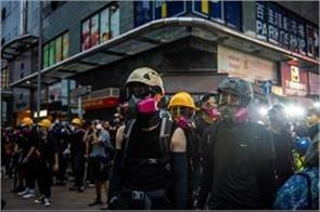 political virus china rounds on hong kong protesters