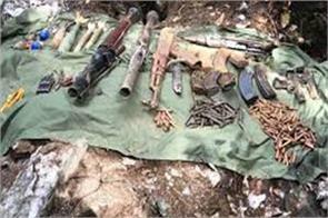 militant hideput busted in kashmir budgam