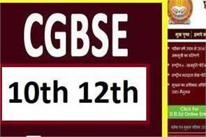 chhattisgarh cgbse 10th 12th results 2020 soon evaluation complete official