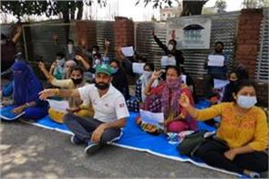protest againts sro 24 in kathua