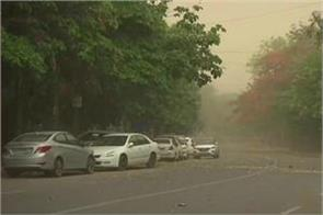dust storm in many areas of north india including delhi ncr
