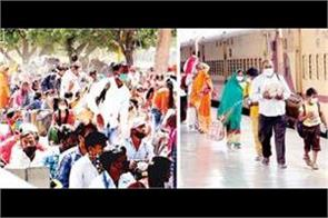 train left for madhubani and unnao district thousands reached home