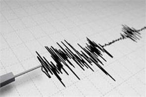 earthquake tremors in delhi