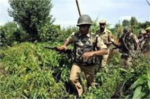 search operation inn kathua after suspicious movement