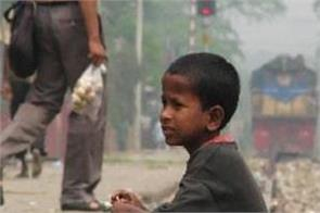 destitute children are living the lives of workers in shelter sites