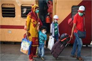 train reached from ahmedabad to delhi dismantling of social distancing
