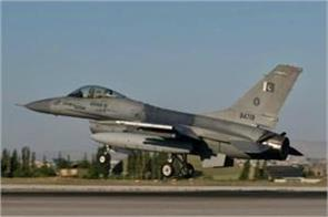 f 16 and mirage flying continuously at pak border