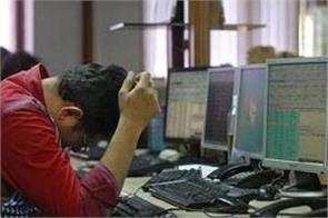 stock market plunges investors drown 5 83 lakh crore