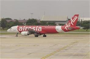 emergency landing of air asia aircraft in hyderabad all passengers safe