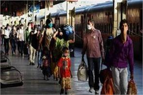 number of laborers returned other states by trains only gujarat crossed one lakh