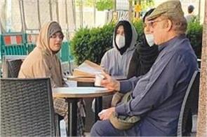 nawaz sharif s photo of him drinking tea in the cafe goes viral on social media