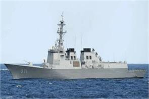 corona south korea will send only two warships for maritime exercises