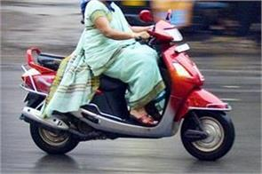 divyang woman brought back to her son by driving 1200 km scooty