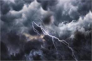 expansion of monsoon in gujarat three died due to lightning