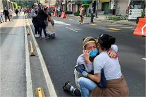 strong earthquake shook mexico 5 killed and 30 injured
