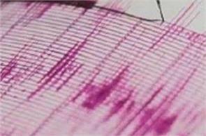 mizoram earthquake tremors