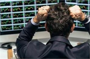 stock market plunges investors drown 3 5 lakh crores in 5 minutes
