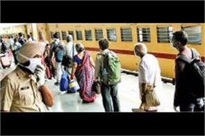 passengers less on trains only 50 passengers in chandigarh bandra